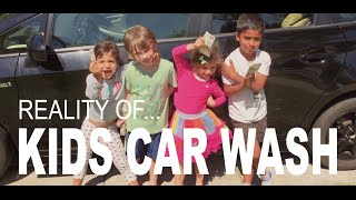 20 REASONS TO SUPPORT A KIDS CAR WASH!