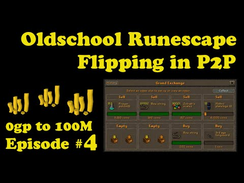 Xxx Mp4 OSRS Oldschool Runescape Flipping In P2P 0 100M Episode 4 SOME BRAND NEW ITEMS 3gp Sex
