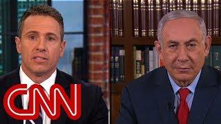 Cuomo presses Netanyahu on Israel