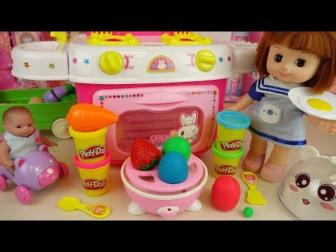 Xxx Mp4 Baby Doll And Play Doh Surprise Egg Cooking Toys Kitchen Play 3gp Sex