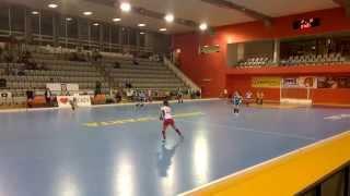 Czech Republic vs Russia @ EuroHockey Indoor Junior Championships 2015, Women (4k video)