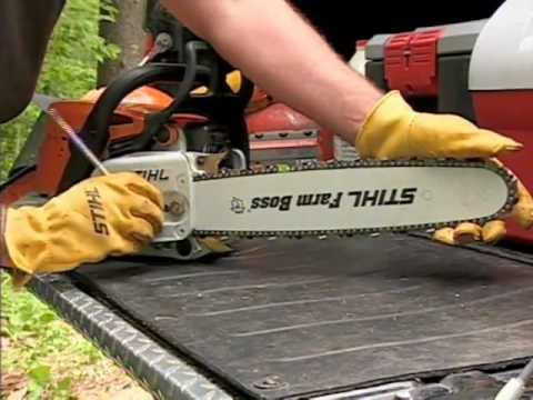Chainsaw Safety Operation & Maintenance