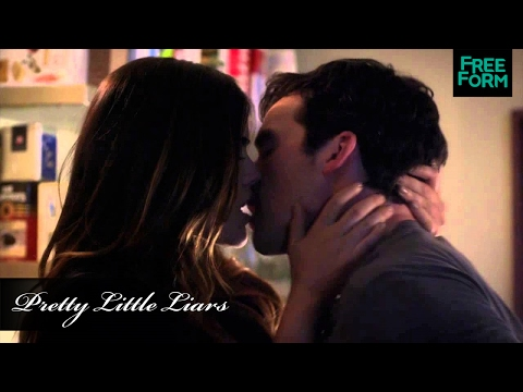 Pretty Little Liars | 5x05 (100th Ep!) Clip: Ezria & Emison | Freeform