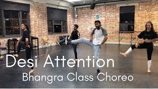 Desi Attention Bhangra Remix | DJ Frenzy | Randeep Singh Chahal Choreography