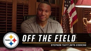 Stephon Tuitt gets cooking