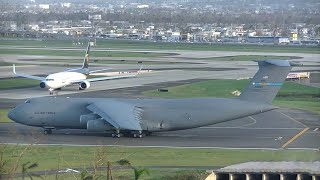 طائرة C-5M Super Galaxy واحدة من اكبر الطائرات العسكرية