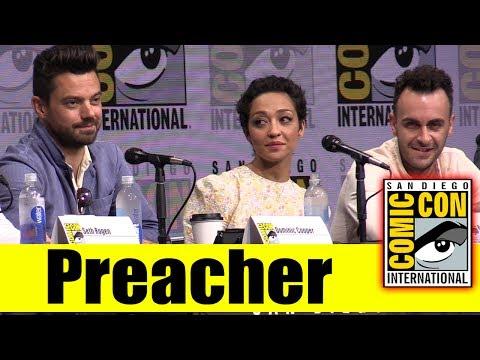 Xxx Mp4 AMC S PREACHER Comic Con 2017 Full Panel Season 2 News Highlights Dominic Cooper Ruth Negga 3gp Sex
