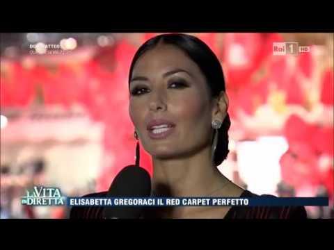 Xxx Mp4 La Vita In Diretta Elisabetta Gregoraci E Il Red Carpet Perfetto 3gp Sex
