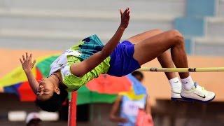 Women's High Jump Final All India University Athletics 2017