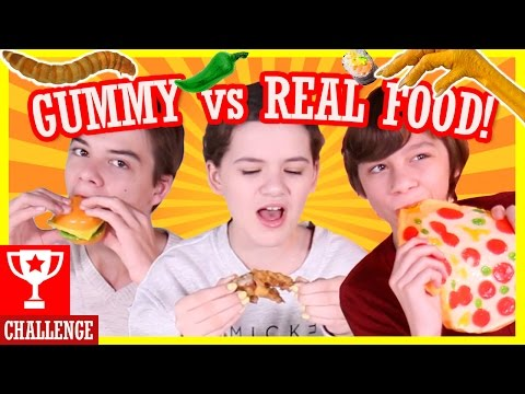 Xxx Mp4 GUMMY Vs REAL FOOD CHALLENGE HOT PEPPERS WORMS GROSS KITTIESMAMA 3gp Sex