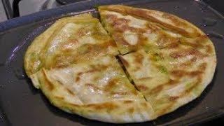 Bolani With Pita Bread - No dough Needed - Easy and Quick Potato Pitta Bread Appetizer