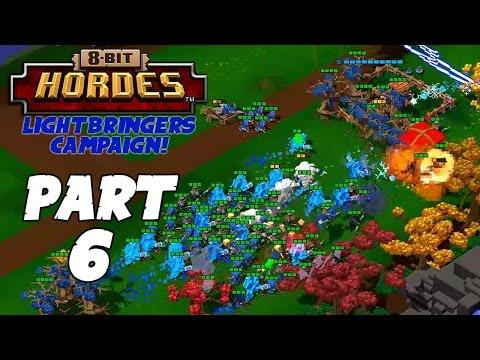 8-Bit Hordes Walkthrough: Part 6 - 3 Star Lightbringers Campaign! - PC Gameplay Playthrough 60fps