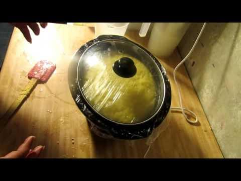 Xxx Mp4 Homemade Fluid Hot Process Soap Making Fall Paradise 3gp Sex
