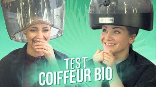 COLINE et PASTEL testent un COIFFEUR BIO !
