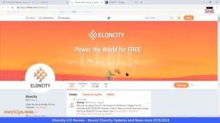 Eloncity ICO Review: Recent Eloncity Updates & News since 1-9-2018