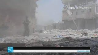 مقتل 29 مدنيا في غارات للتحالف الدولي على الرقة