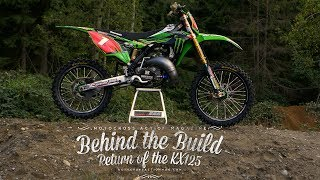 Carson Brown's Trick KX125 - Behind the Build - Motocross Action Magazine