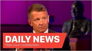 Daily News - Ex-Mercenary CEO Erik Prince Admits To Trump Tower Meet With Donald Jr. And Saudi Em...