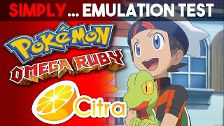 Pokemon Omega Ruby - 1080p [Citra Test]