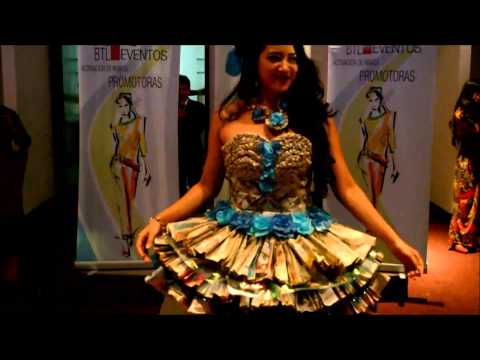 CQC MODEL CLASS DESFILE DE RECICLAJE ECO FASHION SHOW 2015