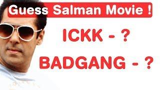 Salman Khan Jumble Challenge! Guess Bollywood Movies