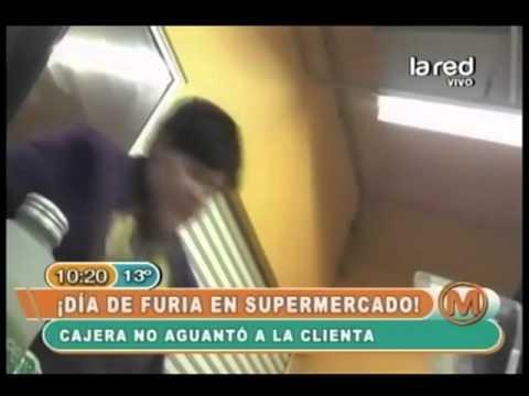 Video con audio de humillación a cajera de supermercado