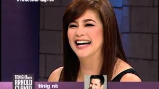 Poor Señorita star Regine Velasquez-Alcasid, nakisaya sa 'Tonight With Arnold Clavio'