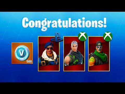 Xxx Mp4 How To Unlock PS4 AND XBOX EXCLUSIVE Quot FREE Quot SKINS Fortnite Battle Royale 3gp Sex