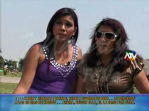 Bailarina Karen Aponte denuncia abandono de Jonathan Rojas p1 de 2 Magaly TeVe 12 04 10