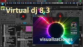 visualisaciones de virtuall dj 8 3