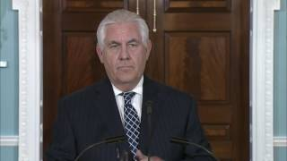 Secretary of State Tillerson Speaks About the Threat of Iran
