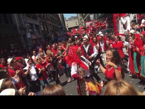 Parada Shqipëtare 2016 NYC Manhattan