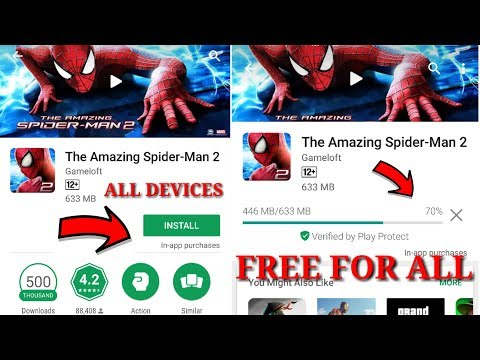 Xxx Mp4 The Amazing Spiderman 2 Free For All Devices Now You Can Download Directly On Playstore Proof 3gp Sex
