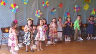 #Hawaiian dance PreK kids graduation 2016