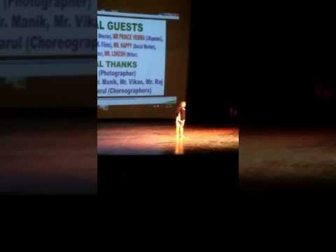 Jammu girl dancing