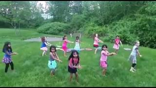 6 year old kids dance practice