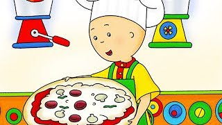 Funny Animated cartoon | Caillou Pizza Night | WATCH CARTOON ONLINE | Cartoon for Children