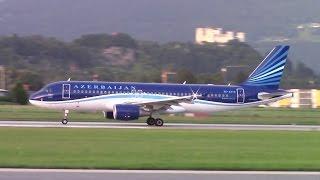 Azerbaijan Airlines Airbus A320-214 (4K-AZ79) at Salzburg airport