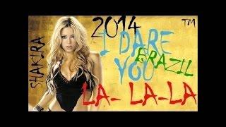 Shakira La La La World Cup 2014 closing ceremony