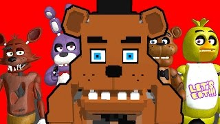 FNAF SURVIVAL! - L4D Five Nights At Freddy's 2 Map (Left 4 Dead)