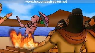 Dashavtar Illustrated Story - Vamana Avatar...The Dwarf Incarnation