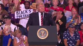 Trump's turbulent Phoenix rally, in 3 minutes