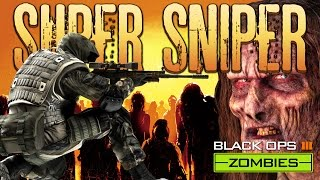 Super Sniper Challenge (Call of Duty Black Ops 3 Zombies)