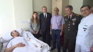 Cumhurbaşkanı Erdoğan, Jandarma Özel Harekât Tabur Komutanı Binbaşı Tetik