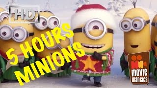 5 Hours Minions Jingle Bells X-Mas Song - extended version