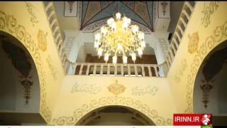 Iran Andishe town, Mall traditional Architecture معماري سنتي مركز خريد شهر جديد انديشه ايران
