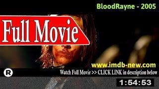 Watch: BloodRayne Full Movie Online