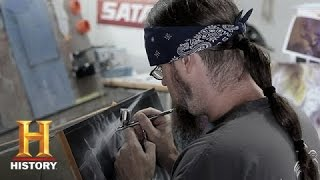 Counting Cars: Ryan and Mike Airbrush Computers | History