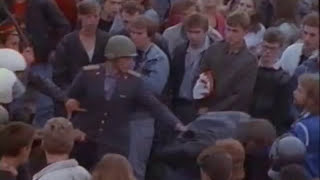 Monsters of Rock in Moscow '91 - riots during the show [HQ]
