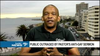 Public outraged by pastor's anti-gay sermon